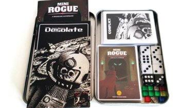 """Mini Rogue & Desolate. Mini giochi """"Print and Play"""" per chi è pigro e vuole giocare da solo (Summer Edition)!"""