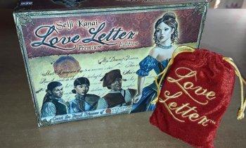 Giochi… a tavola 8: Love Letter Premium Edition / Baci di dama