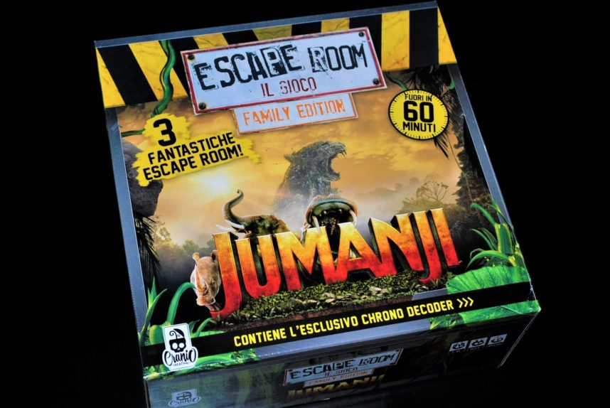 JUMANJI ESCAPE ROOM - FAMILY EDITION -