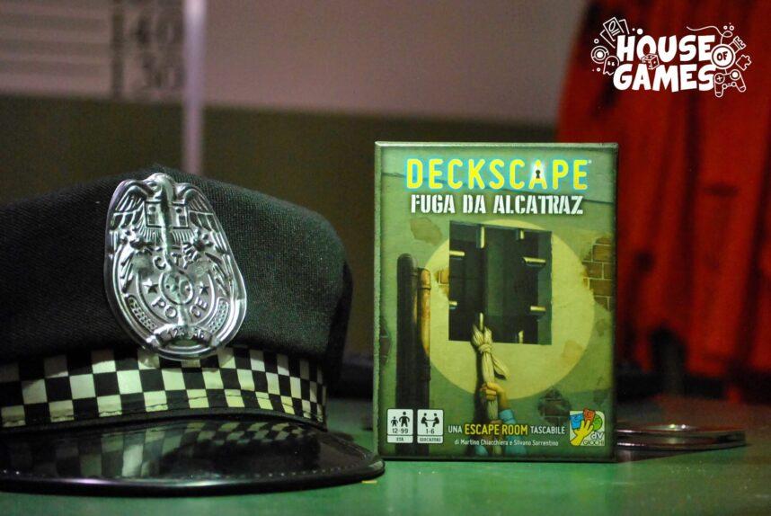 DECKSCAPE: Fuga da Alcatraz